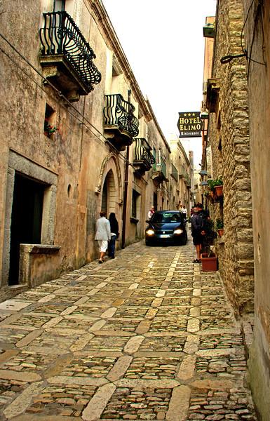 Main Street in Erice