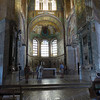 Ravenna - the interior of one of the Churches and some of the incredible mosaics.