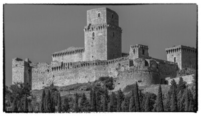 Castle at Assisi.