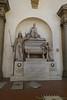 Danti Allegherio's tomb in Santa Croce
