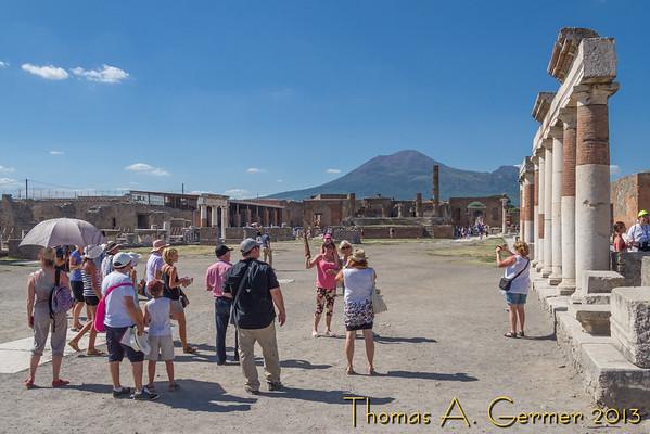 Pompeii and Mt. Vesuvius