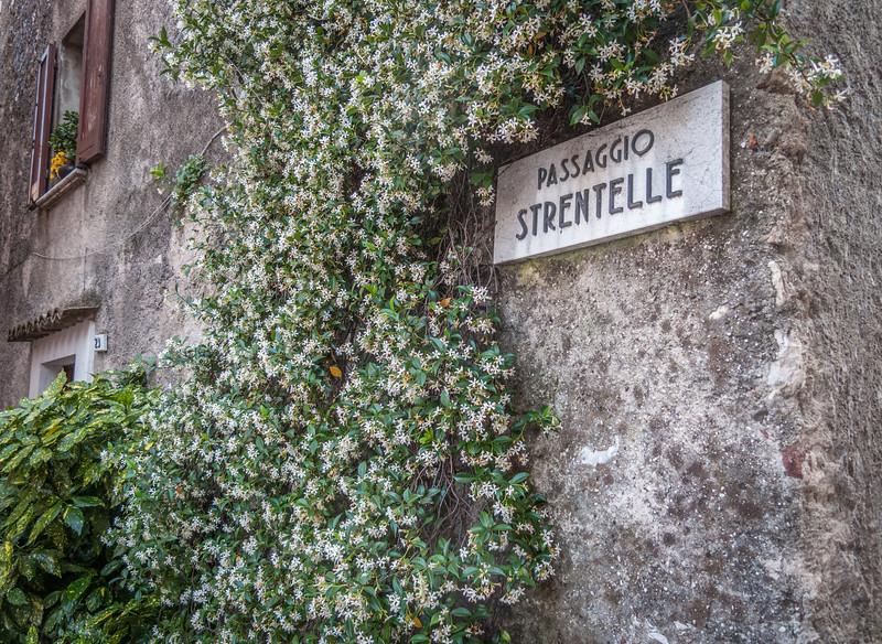 A street corner in Sirmione