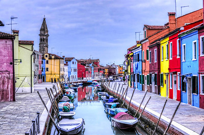Burano in HDR.