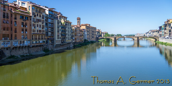 From Ponte Vecchio, Florence