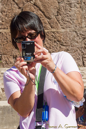 Taking a picture of me!