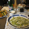 Monterosso - this is my traditional first meal on arriving back in the Cinque Terre, Trofie al Pesto.