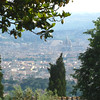Florence - a closer view of the city and the Dome from Fiesole.