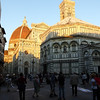 Florence - aother view of the Dome in the evening sun.
