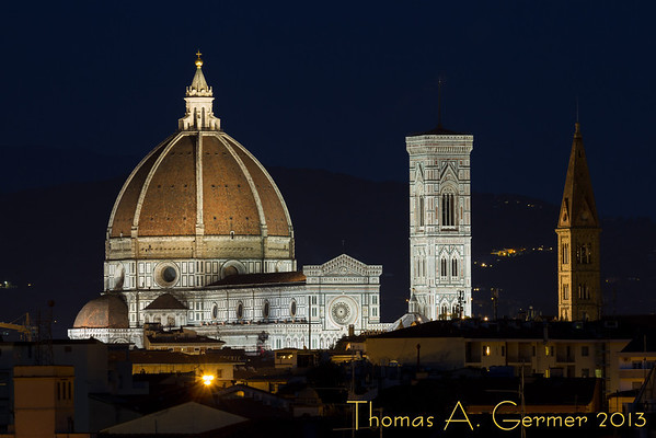 Florence at Night, from the AC Firenze