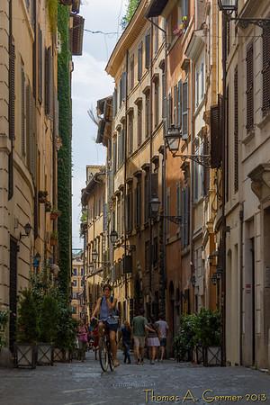 Near the Piazza Navona