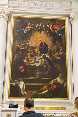 Last Supper in Duomo di San Martino, in Lucca