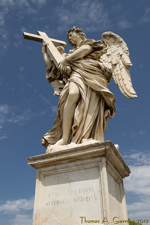 Statue on Ponte Sant'Angelo