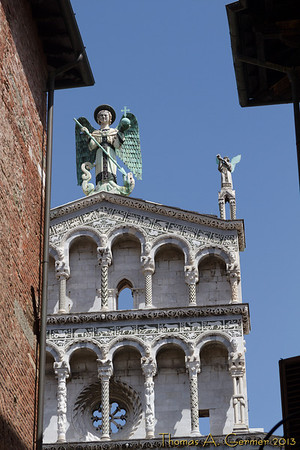 San Michele in Foro, in Lucca