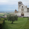 Assisi - the Basilica of St. Francis.