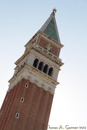 Piazza San Marco, the Campanile