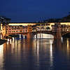 Florence - the Ponte Vecchio (old bridge).  This was about the only bridge that wasn't destroyed during WW-II.