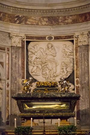 Tomb of Saint Rainerius in the Duomo, Pisa