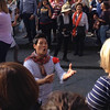 Street performers on Ponte Vecchio.  Give it a listen!