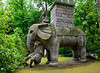 Hannibal's elephant catching a Roman legionary