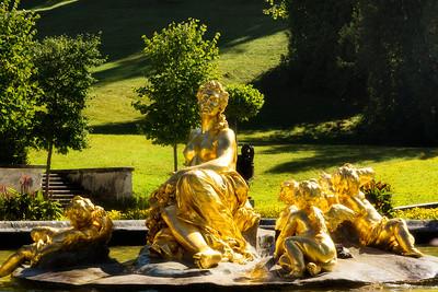 Fountain Sculpture at Linderhof