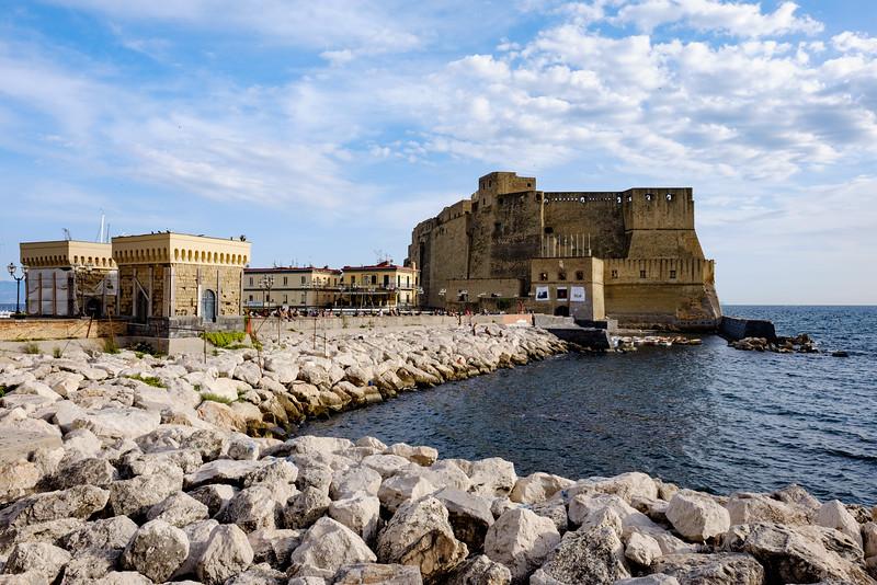 Castel dell'Ovo in the Bay of Naples