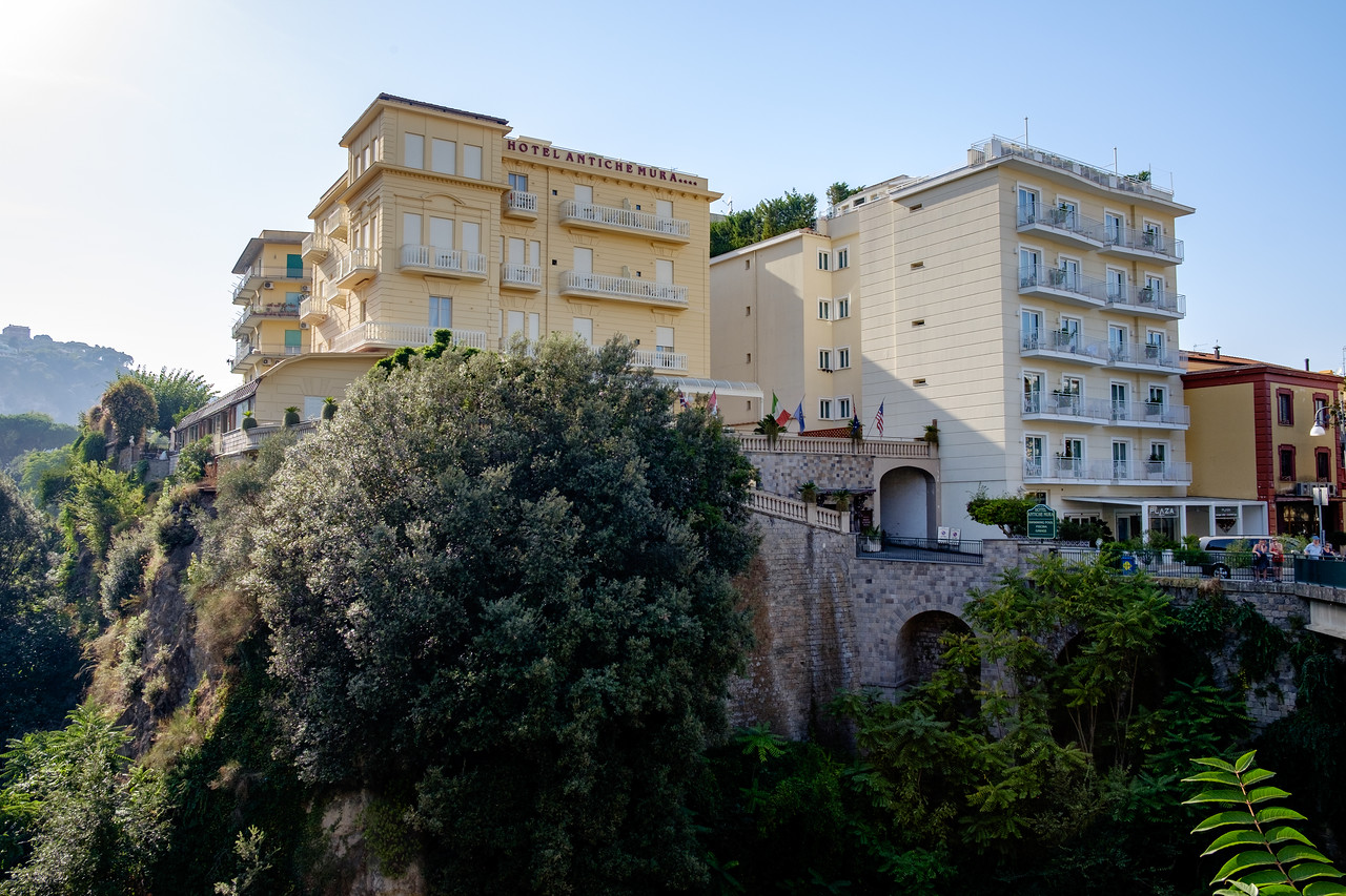 Our hotel in Sorrento