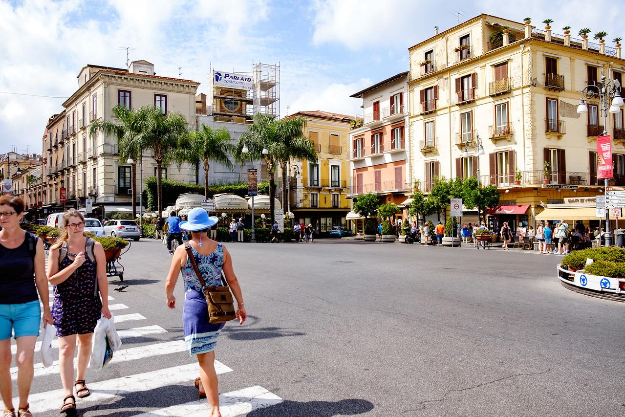 Walking in Sorrento