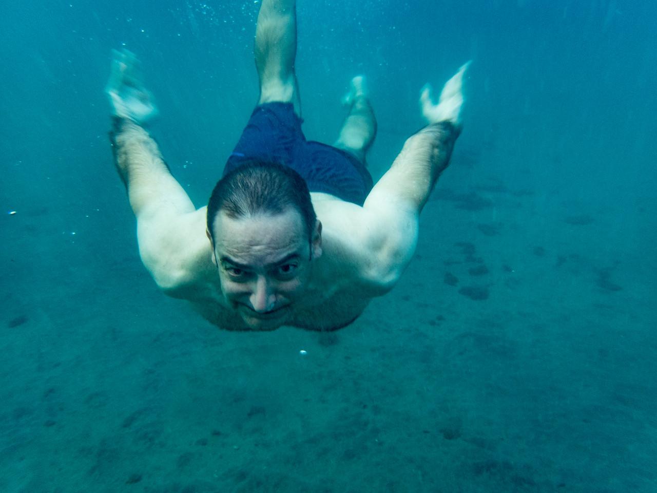 Rich swimming