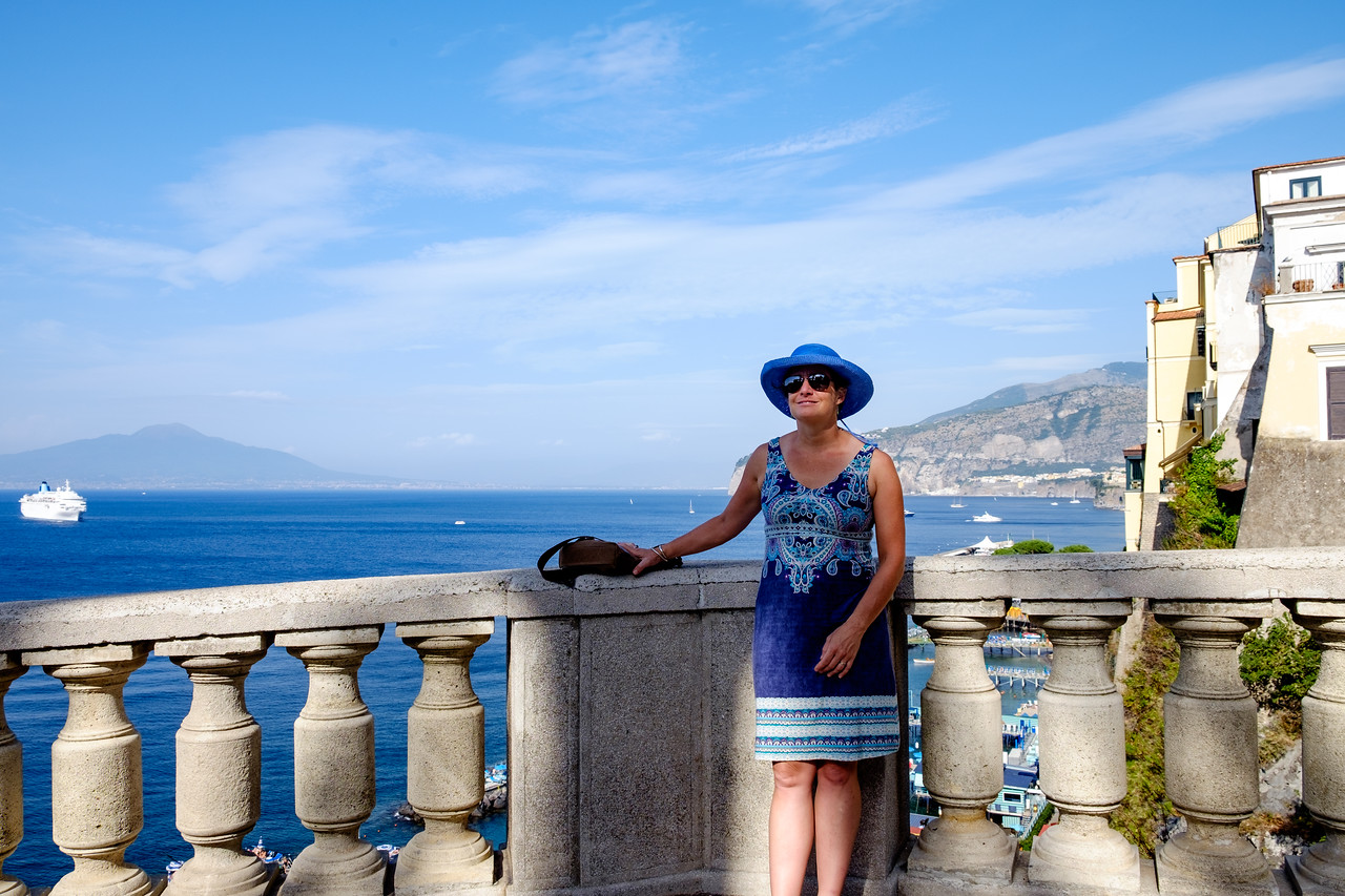 Lisa in Sorrento