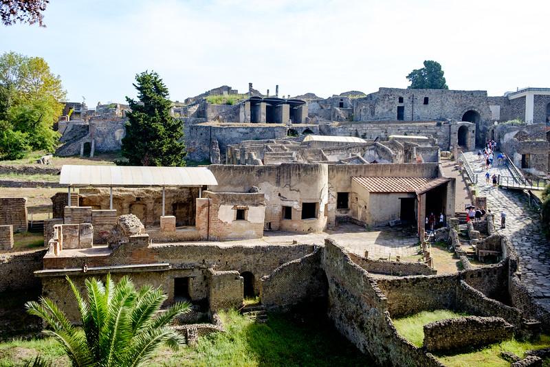Pompeii entrance