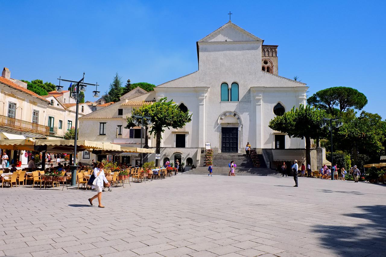 The square in Ravello.
