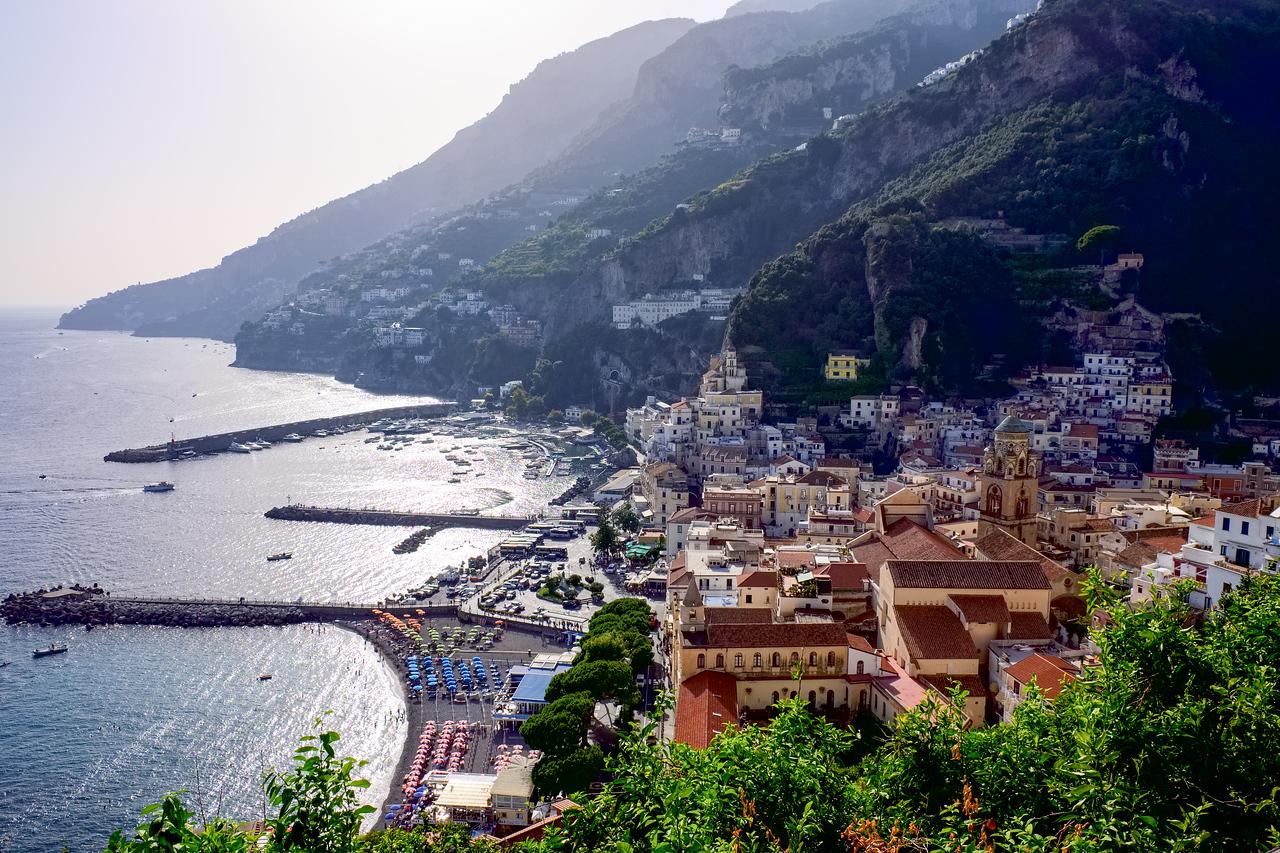 Return to Amalfi.