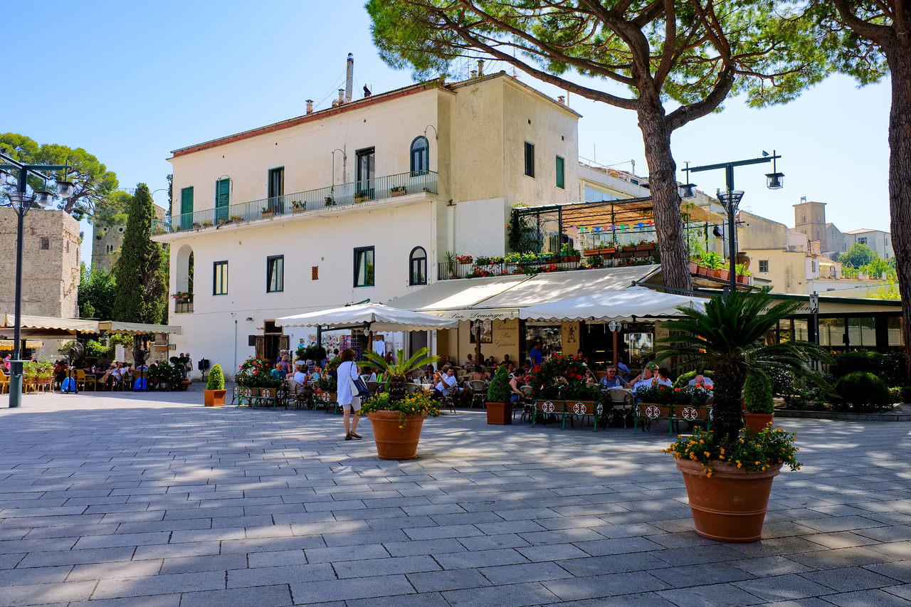 The square in Ravello.