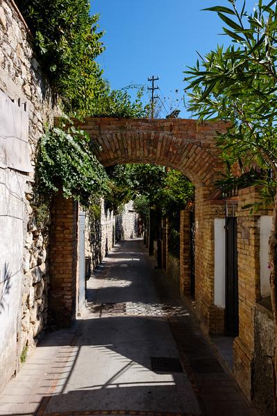 A street in Capri.