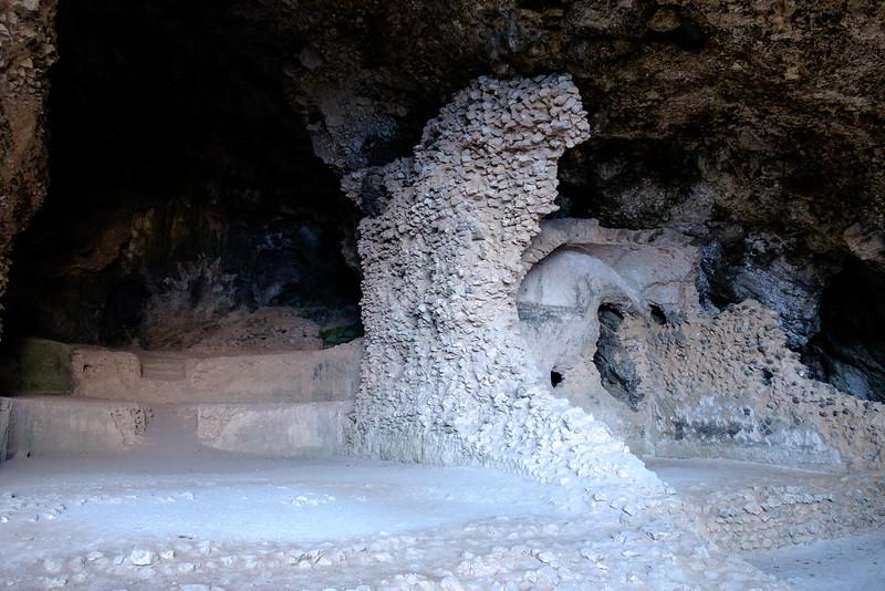 Cave dwellings on Capri.
