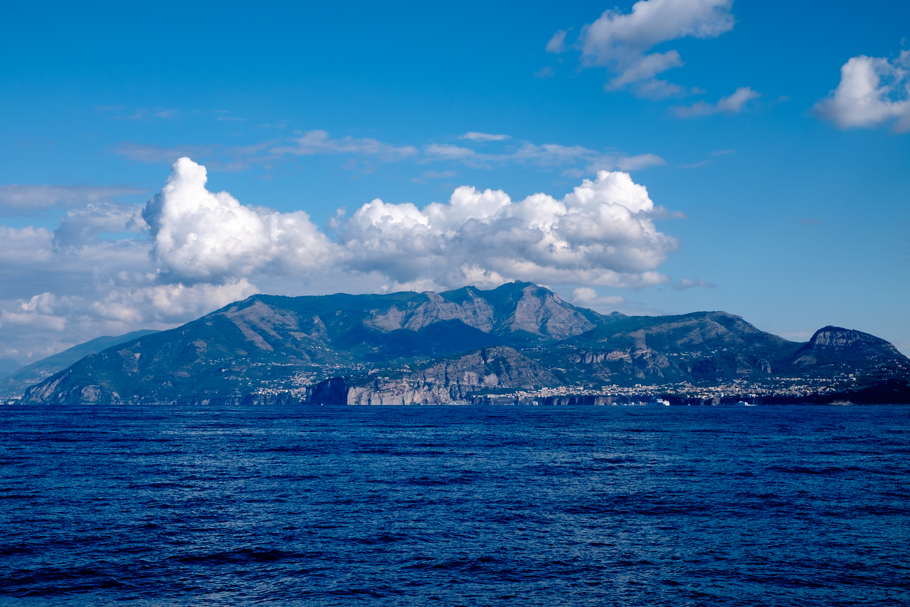 The Sorrento Peninsula.