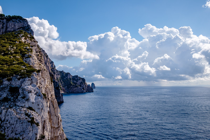 Cliffs of Anacapri.