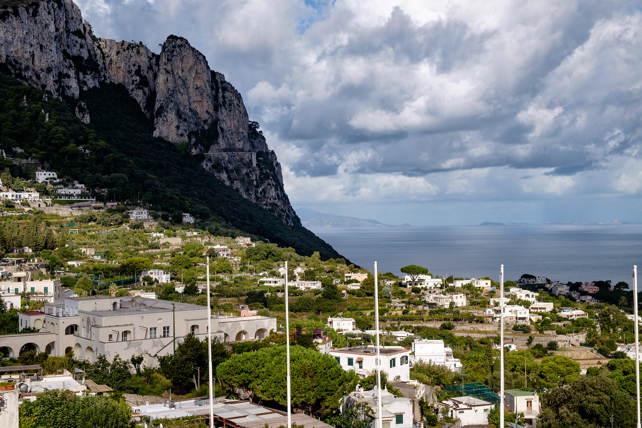 Morning in Capri.