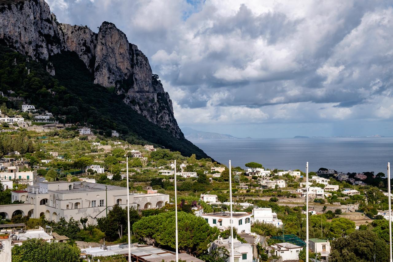 Morning in Capri.