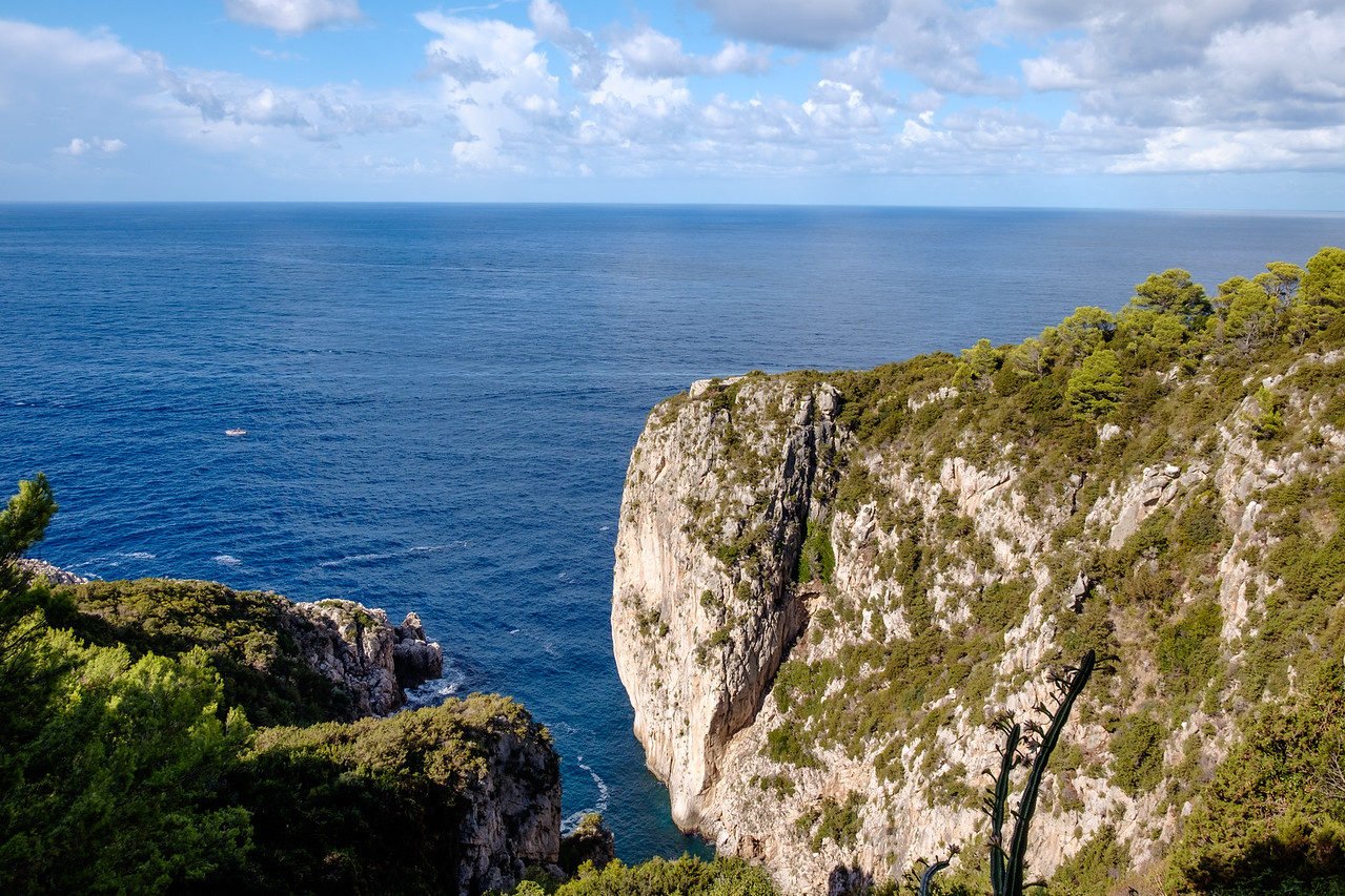Cliffs of Anacapri.