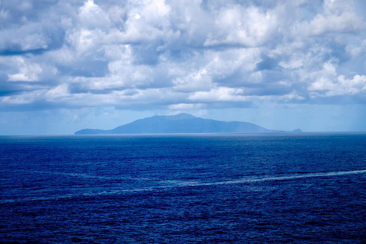 Ischia in the distance