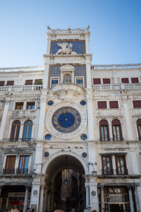 Torre dell'Orologio, or St Mark's Clocktower just beside St Mark's Basilica.