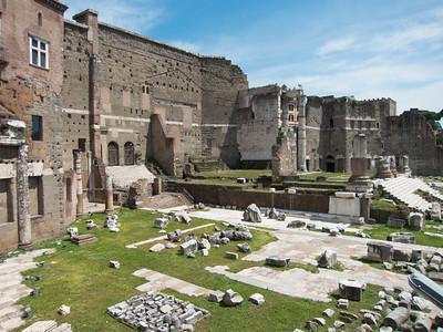 Ruins of Trajan's Market (c. 110 AD).