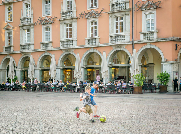 Football on the Piazza