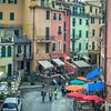 Vernazza's main street
