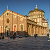 Santa Maria delle Grazie = Home of Leonardo's The Last Supper