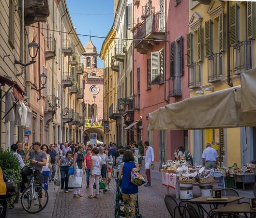 Alba's main shopping street