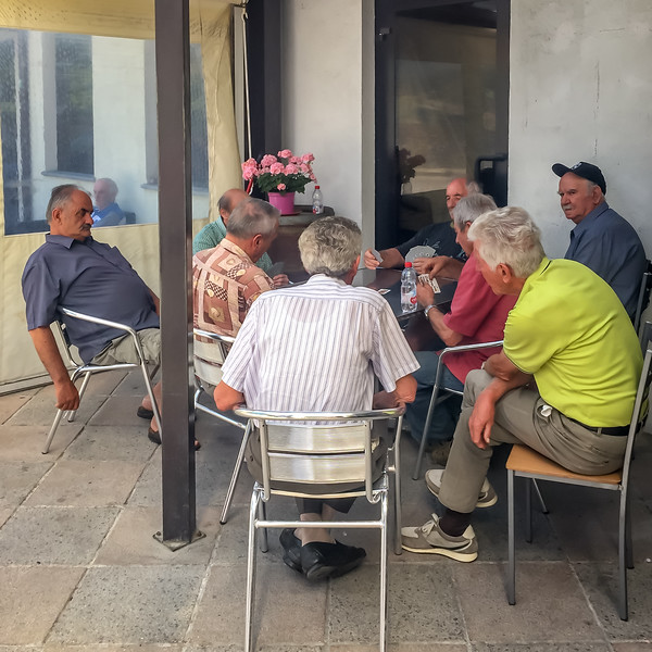 The bar is the social gathering place in many towns as well as a coffee break stop for cyclists