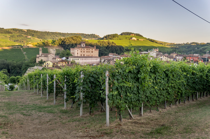 Borolo - a nice little town that wine made famous