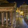 Pantheon from Hotel Room